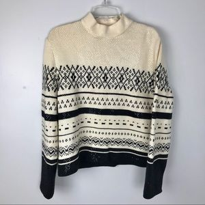 St. John Collection | Nordic Sweater w Pai…